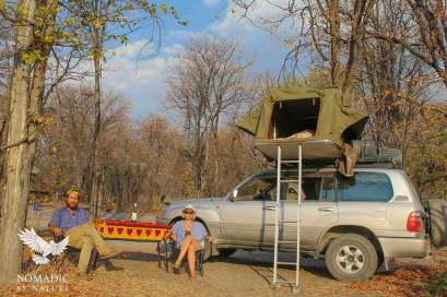 South Gate Campsite, Moremi Game Reserve, Botswana