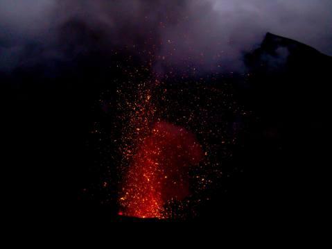 A Towering Spout of Lava, Tanna Island, Vanuatu