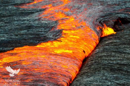 Lava Flowing like Honey, Erta Ale, Ethiopia