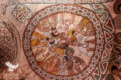 The Ceiling of Abuna Yemata, Ethiopia
