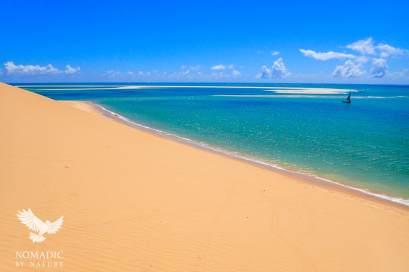 Sand Dunes of Bazaruto Island, Vilanculos, Mozambique