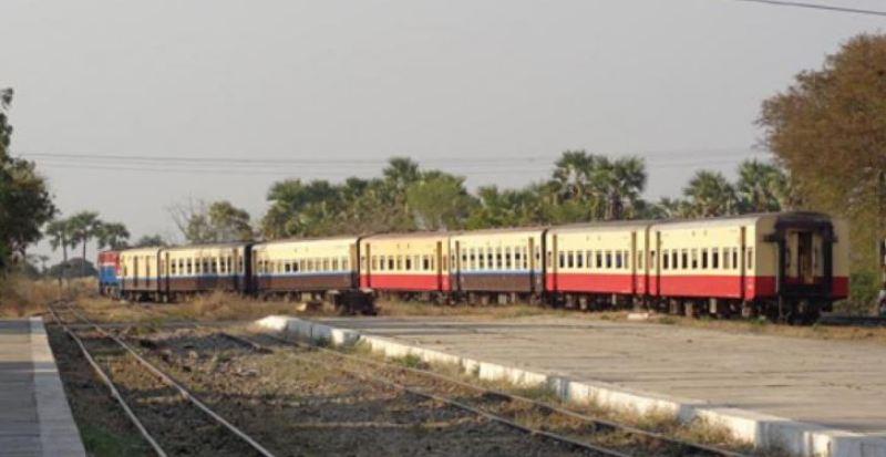 mandalay to bagan train