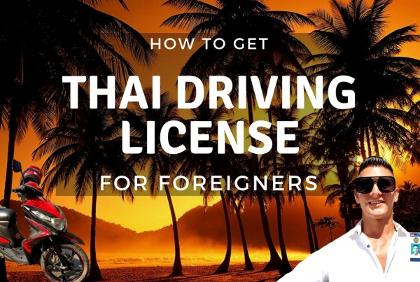 thai driving license