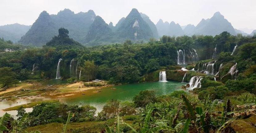 Ban Gioc Waterfall, Detian – Ban Gioc Waterfall