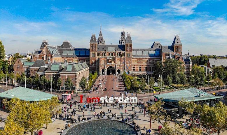 I am Amsterdam Europe Itinerary