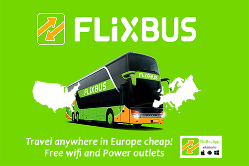 Cheap Bus Tickets Europe, Flixbus Cheap Bus Tickets Europe