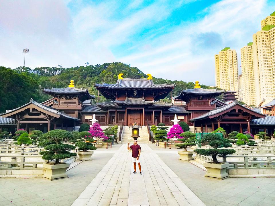 hong kong itinerary chi lin nunnery