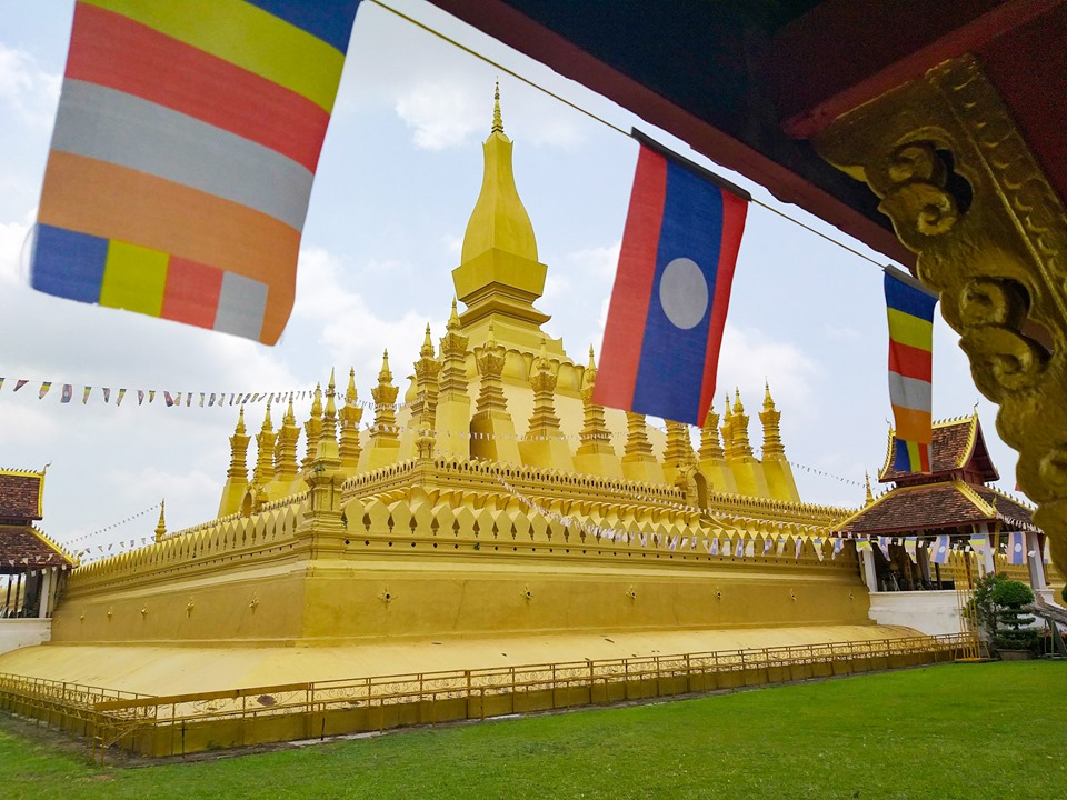 Pha That Luang Things to do in Vientiane Laos Nomadic Travel
