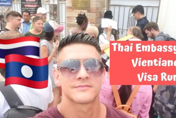 thai embasssy vientiane visa run
