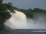 Waterfalls everywhere.