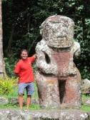 The biggest Tiki in French Polynesia