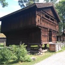 Wooden houses in the Folkemuseum