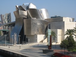 Guggenheim and park, Bilbao, Spain