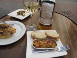 Pintxos lunch, Jaca, Spain