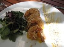 Sesame crusted shrimp