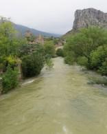 Rising Buèges river