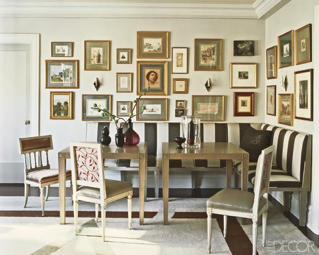 Dining Table U0026 Chair Mismatch At Elle Decor