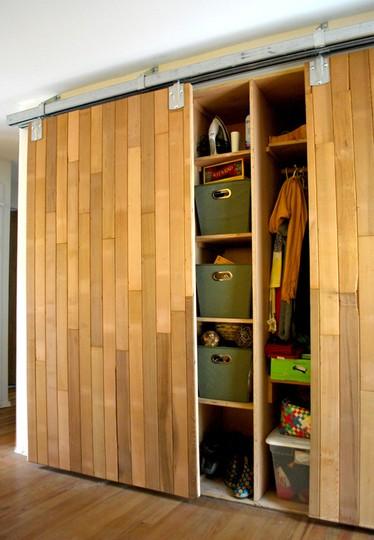 sliding raised doors panel barn htm mirrored combination closet closets for