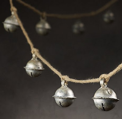 Jingle Bell Garland from Restoration Hardware