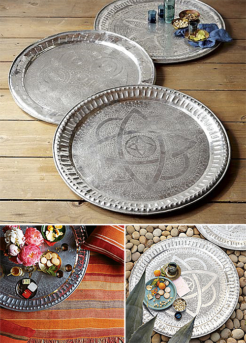 Moroccan Trays from West Elm