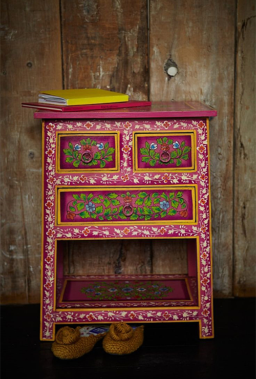 Painted Cabinet from Plumo