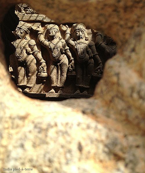 Carvings Inside Bhoga Nandeeshwara Temple