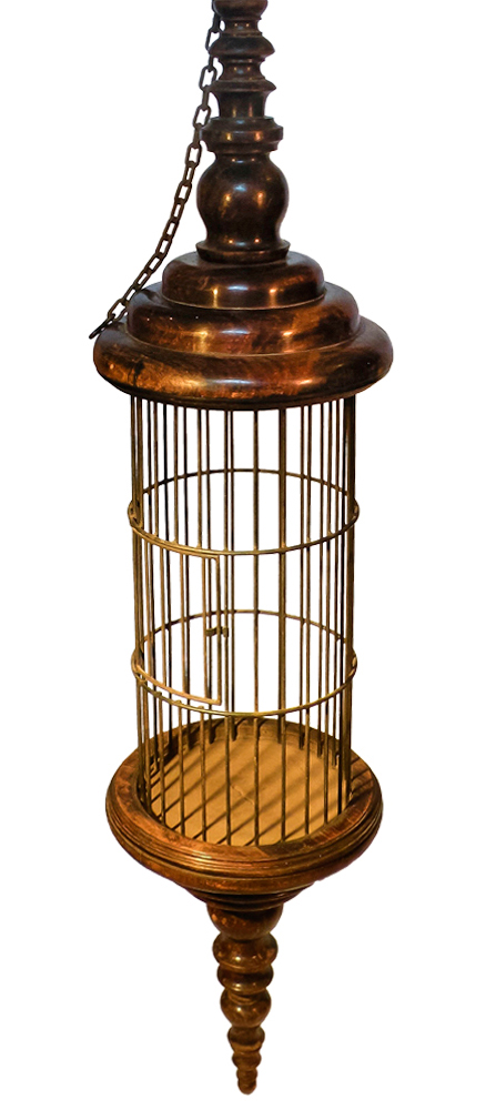 Five Foot Tall Wood Birdcage at Second Shout Out