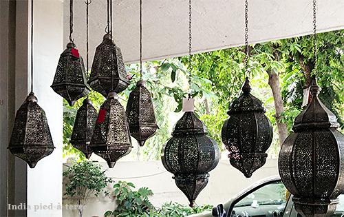 Jaali Lanterns at Good Earth India