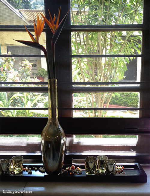 Garden View from Inside Spa.ce Spa in Bangalore
