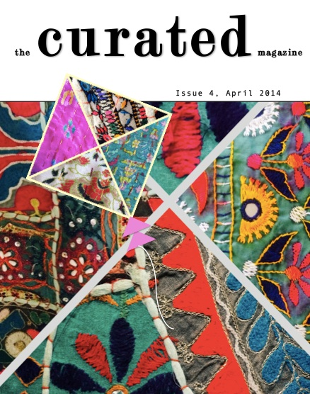 curated Magazine April 2014 cover