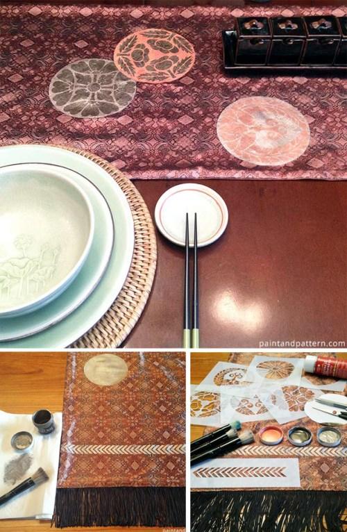DIY Obi Table Runner