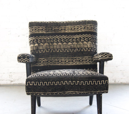 Mud Cloth Chair via Rent Patina