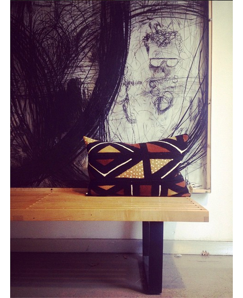 Mud-Cloth-on-Mid-Century-Nelson-Bench-via-Instagrammer-xnasozi.jpg