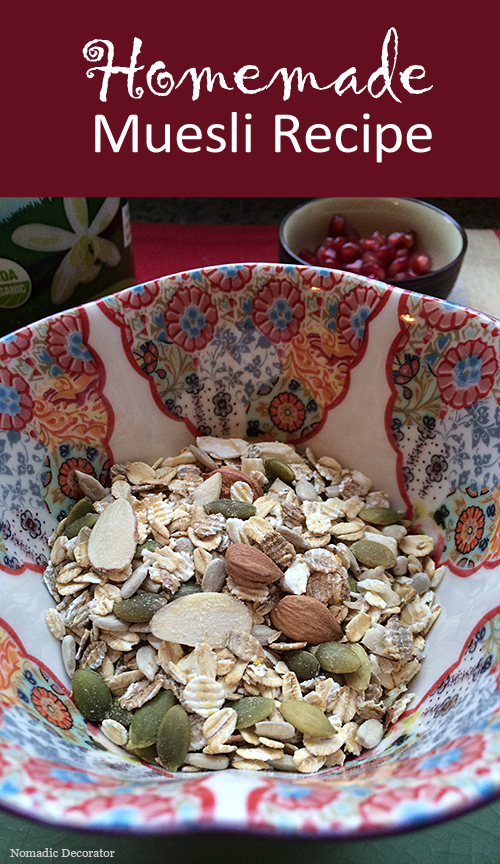 Yummy Homemade Muesli Recipe