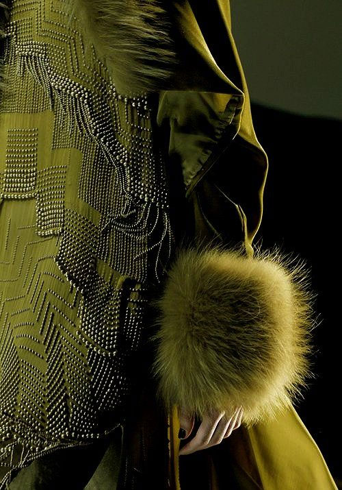 Jean Paul Gaultier and Olive
