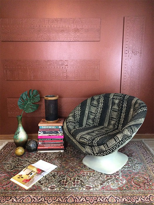 Mud Cloth Upholstery