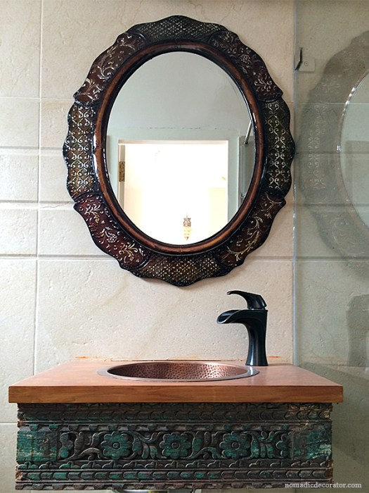 Master Bath Vanity Carefully Composed