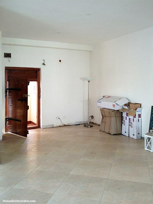 India Apartment Entry Area