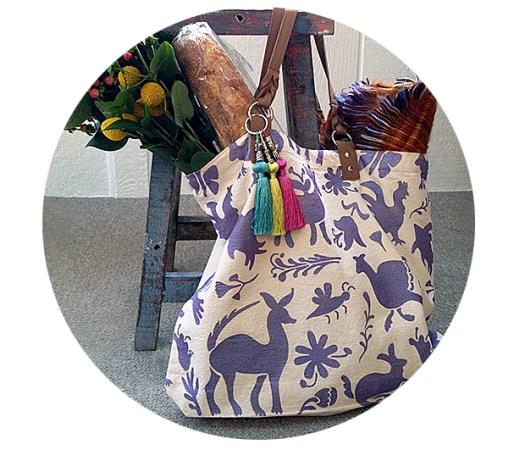 DIY Otomi Tote Bag