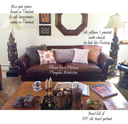 Nomadic Decorator House Tour - Living Room