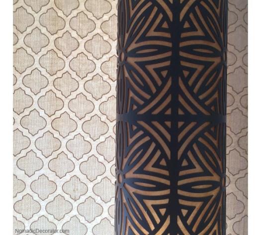 Curtain and Lamp Shade