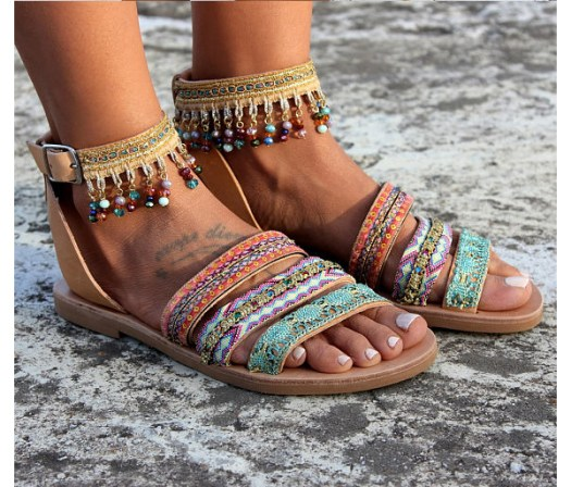 Dimitras Workshop Etsy Shop Coachella Style Sandals
