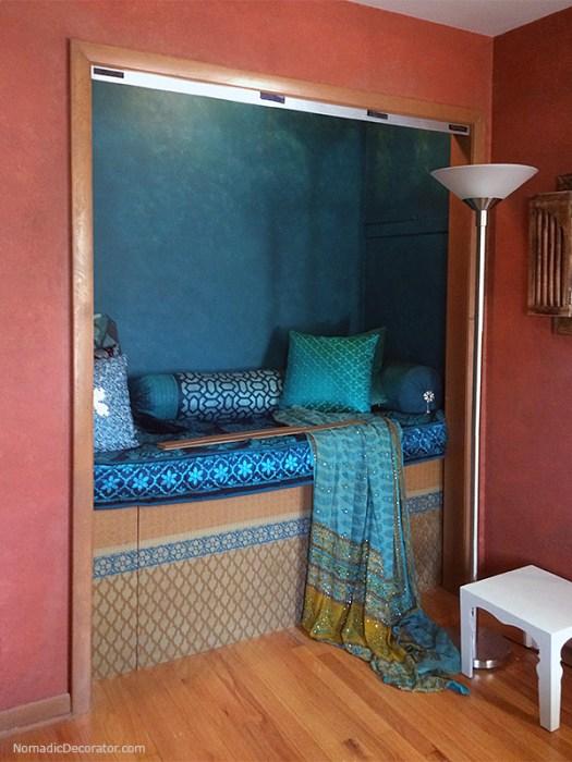 Indian-Moroccan Nook