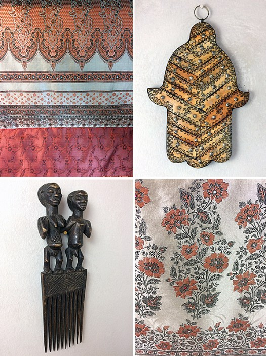 Collage of Studio Patterns and Decor