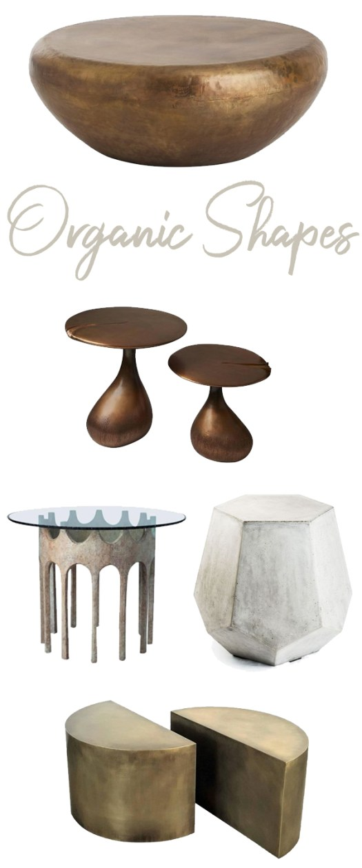Coffee Tables Organic Shapes