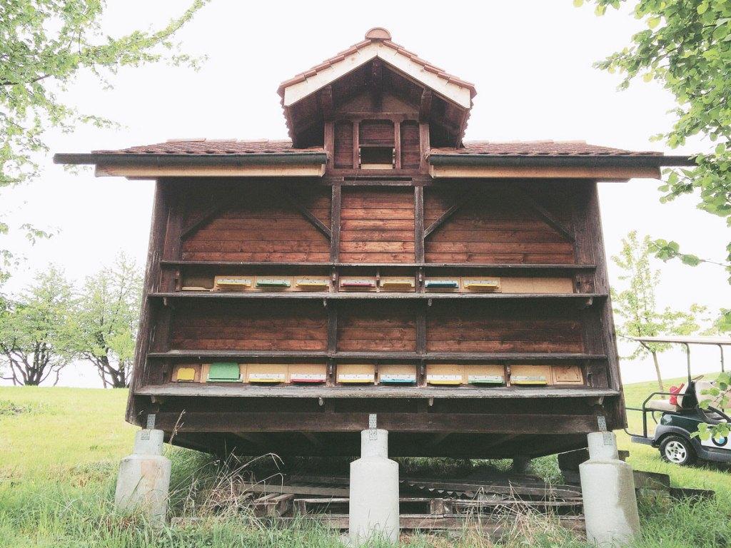 Switzerland honeybee house