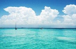 Mexico waters near Isla Mujeres