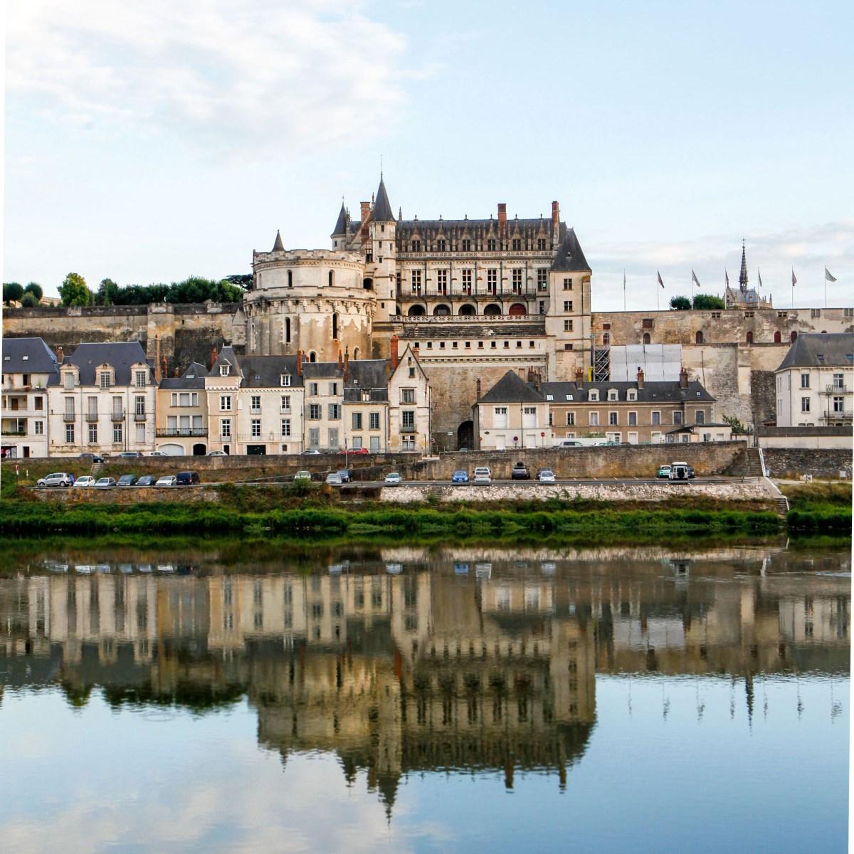 Amboise Castle along the Loire River