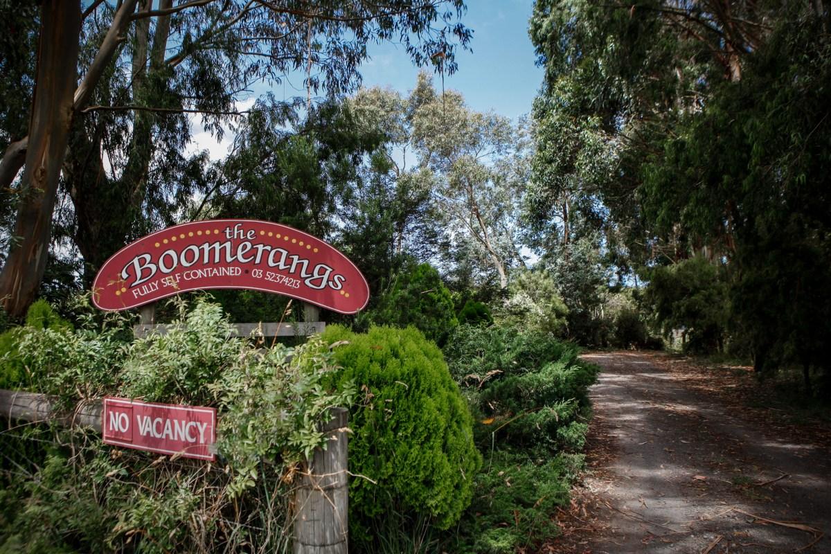 The Boomerangs at Johanna in Great Ocean Road