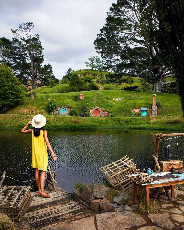 Wendy / Nomadic Fare at Hobbiton Movie Set, New Zealand